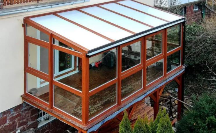 polikarbonát tető teraszra